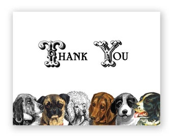 Thank You Dogs Card