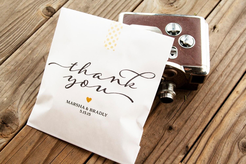Wedding Favor Bags For Cookies : Wedding Favor Bags Wedding Cookie Bag Candy Favor Bag by mavora