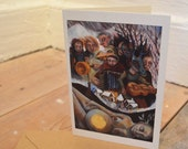 The Mummers Greetings Card