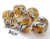 Lampwork Beads Posh Tiger order PER BEAD
