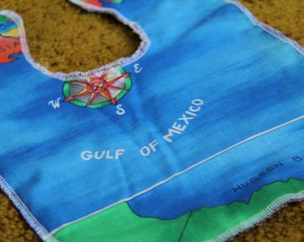 Gulf of Mexico Baby and Toddler Bib