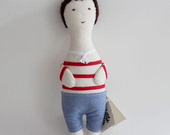NEW COLECTION - Fabric doll  - Olívia ( Boy - Oliver)
