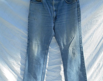 80s 90s Levis zip fly jeans Waist  W 36