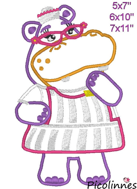 Doctor girl machine embroidery applique birthday design for 7x11 bathroom layouts