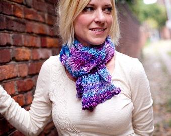 knit scarf - My Little Pony