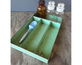 1940s Utensil Tray - Storage Caddy -