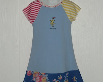 Hot Dog Dress In Size 5-6