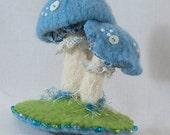 Tiny Bite Mushroom Pincushion