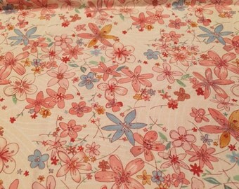FQ Fabric Blooming Thicket Alexander Henry