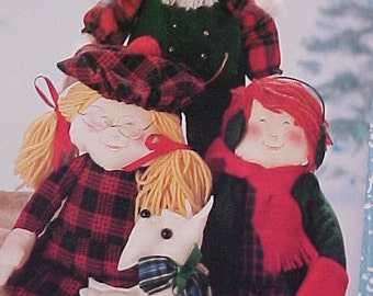 Pattern for 16 inch Dolls for Christmas or Winter