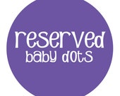 RESERVED for unchainedkateo
