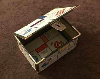 1950's Monopoly Game Board Box