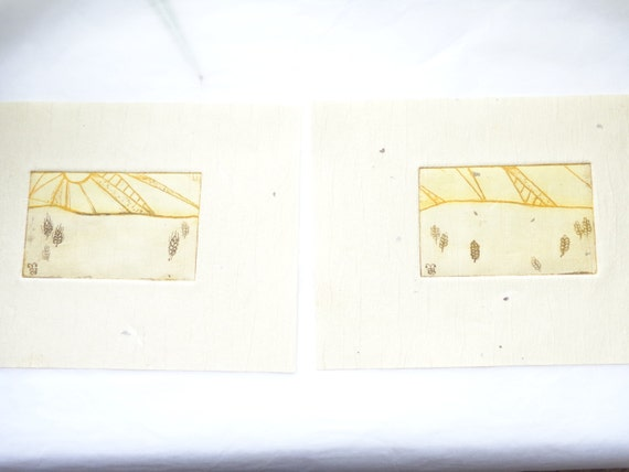 Sun and wheat etching, Christmas, holidays, gifts, decor