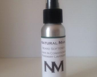 Natural Mustache and Beard Softening  Spray