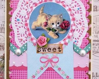 Sweet Kitten Card