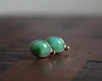 Phosphorescence, Gem Silica post earrings
