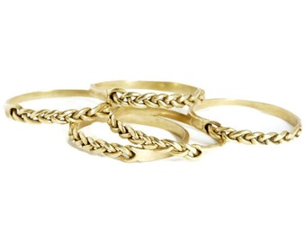 Braided Stacking Ring