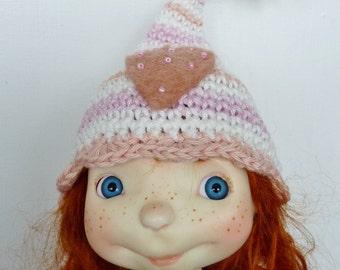 Sprocket Hat Pastel Heart