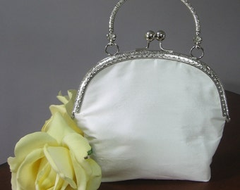 Hand Sewn First Communion Purse for Little Girls