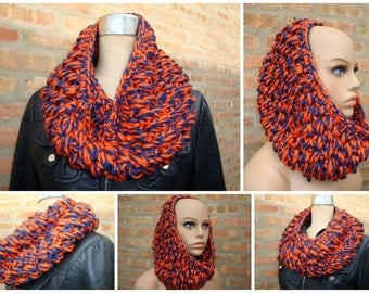 Bears Colors - Which is your favorite - Crocheted Cowl - Crocheted - Handmade - Ready to ship