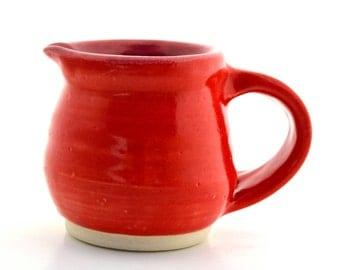 Little Pitcher Red and Raspberry