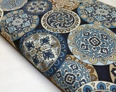 Timeless Treasures Casbah C4074 Asian Medallions Quilting and Sewing Fabrics