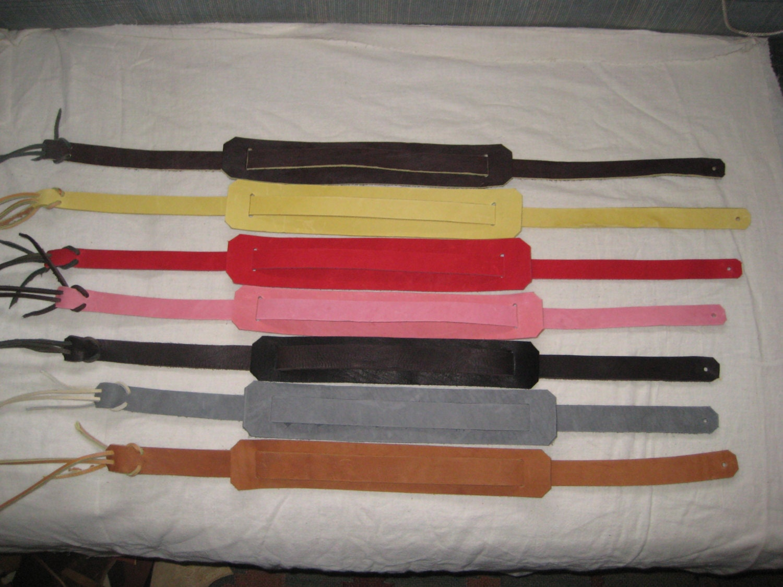 leather mandolin ukulele backpacker guitar strap in colors. Black Bedroom Furniture Sets. Home Design Ideas