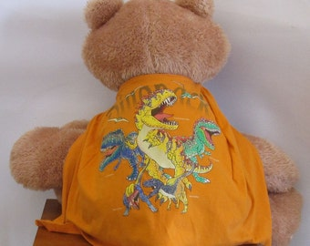 Child Cape or Apron: Dinosaurs  Handmade by Fashion Green T Bags