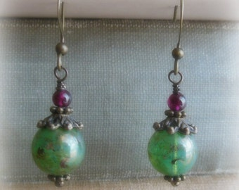 Oceanic Orb Earrings