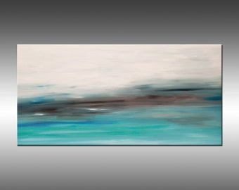 Sunrise 26 - Original Abstract Painting Landscape Colorful Painting Abstract Art Contemporary Canvas Wall Art Modern Art