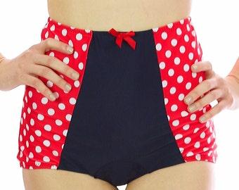 Claire Retro Bikini Bottom