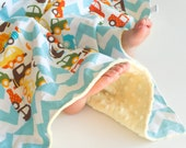 Baby Blanket, Small Patchwork with Minky for Baby Ready Set Go Cars (1)