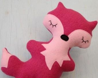 Pink Fox Friend