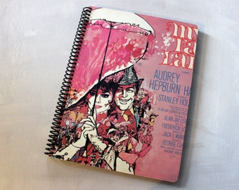 My Fair Lady Record Album Blank Notebook- Upcycled Journal, Sketch book