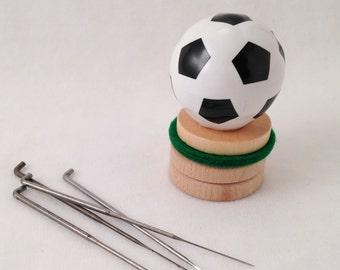 Soccer Needle Felting Tool