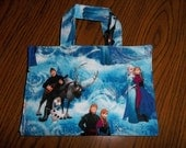 Crayon Tote Bag Caddy Activity Case Disney Frozen With Elsa Anna Olaf Kristokff Sven