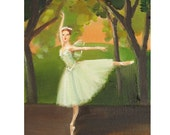 Enchanted Dancer: In La Sylphide The Forest Fairies Were Always Real.