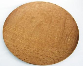Hoosier Oak Platter Made from Reclaimed Wood
