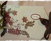 Christmas Sparkle Large Envelop Album
