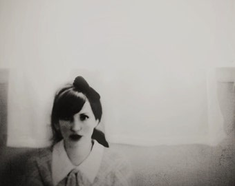 Surreal Portrait, Black and White, Home Decor, Dark, Fine Art Print, Modern Home Decor, Wall Art, Vintage Style, Film