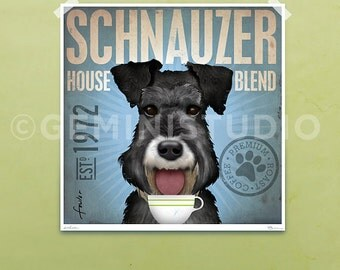 "Shop ""schnauzer"" in Drawing & Illustration"