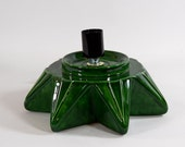 Replacement Ceramic Christmas Tree Base Atlantic Star Green made to order