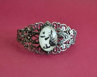 Sale 20% Off // PETER PAN Bracelet - Silhouette Jewelry // Coupon Code SALE20