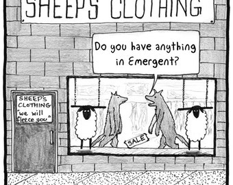 Sheep's Clothing FINE ART reproduction PRINT