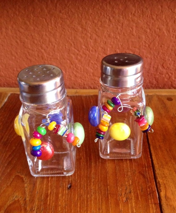Funky Salt And Pepper Shakers Set Of Two By Leighmountjoy