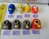 Choose your Paper Punch DIY Crafts Flower, Star, Butterfly and more S1057