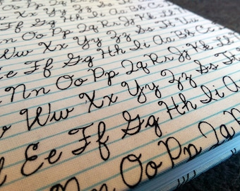 Handwriting (a notebook)