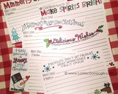 Christmas Fresh Picked Recipe Cards - 12 pack