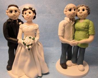 Custom Wedding Anniversary  Cake Topper,Custom wedding cake topper, personalized cake topper, , Mr and Mrs cake topper