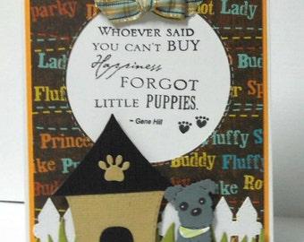 Dog Greeting Card - Blank